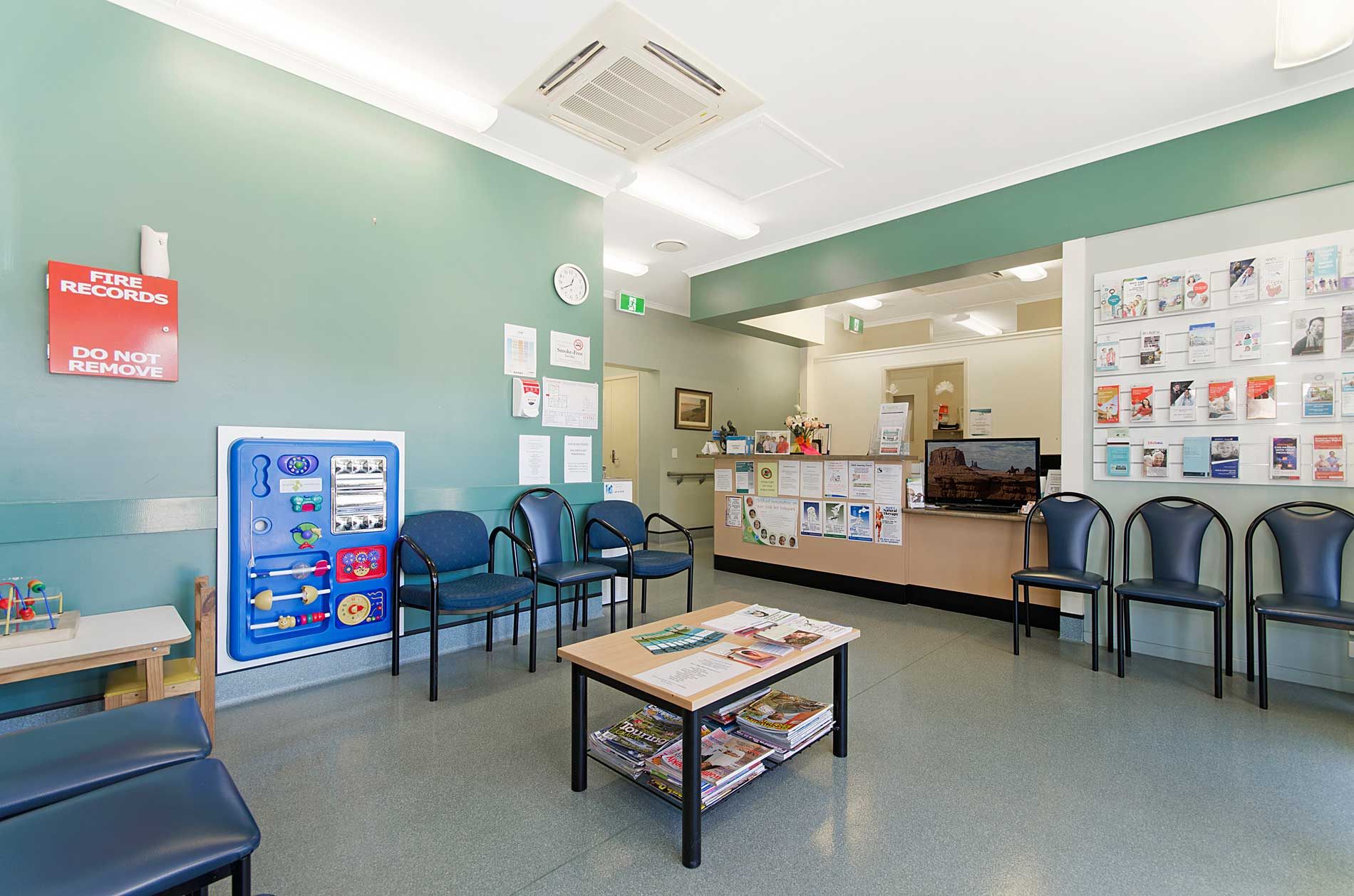 Cardwell Family Practice - waiting room
